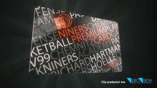 NINERS Premium Card – Werbespot